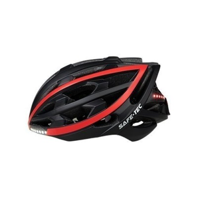 Safe-Tec TYR Black Red XL (61cm - 63cm)