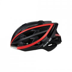 Safe-Tec TYR Black Red L (58cm - 61cm)