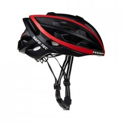 Safe-Tec TYR Black Red S (53cm - 55cm)