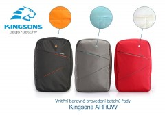 Kingsons Arrow Grey 15,6